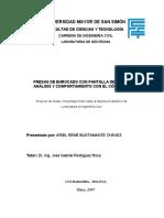 PRESAS DE ENROCADO CON PANTALLA DE HORMIGÓN, ANÁLISIS Y COMPORTAMIENTO CON EL CÓDIGO PLAXIS