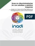 INADI Practicas No Discriminatorias en Relacion Con Adultas y Adultos Mayores