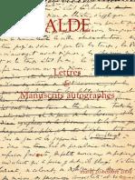 Catálogo Alde