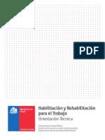 Orientacion Tecnica Habilitacion Rehabilitacion Trabajo