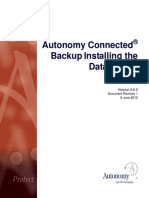 Connected Backup 8.6.2 Install Datacenter