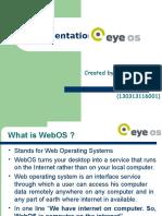 Presentation on EyeOS