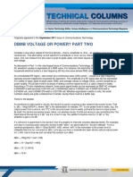 11-09-01 Dmbv Voltage or Power Part Two