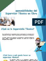 Responsabilidades Del Supervisor Técnica en Obra
