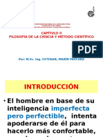 II Filosof. Ciencia y Met. Cientif. (Maestria Geot. Geom. Min.)