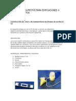Diseños de Especificaciones Estructurales_s1