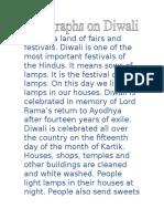 Diwali Eassy