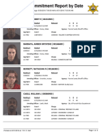 Peoria County Jail Booking Sheet for Aug. 31, 2016