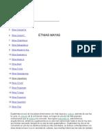 Etnias Mayas