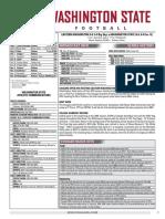 WSU 16FB Game Notes - Eastern Washington