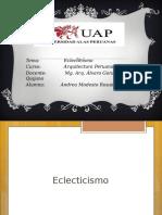 Exposicion Arq. Peruana
