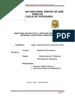 DETERMINACION Y FISCALIZACION TRIBUTARIA.doc