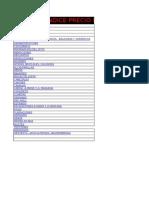 Indice de Albañileria Agosto 2016 Con Cesta Ticket Nueva Incluida