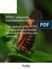 REDD+ safeguards implementation in Peru