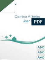 Domino A Series User Guide English