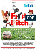 First Pitch Poster