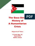 The Gaza Strip - History of a Humanitarian Crisis