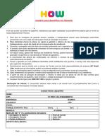 Formulário NR1 HOW