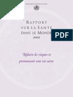Whr02_fr Résumer Rapport Oms Santé