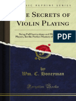 The Secrets of Violin Playing 1000052405