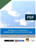 Inteligencia Competitiva. HERRAMIENTAS DE SOFTWARE