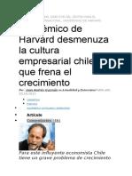 analisis economia chilena