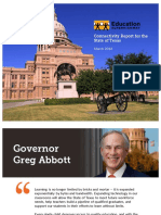 Final Texas Connectivity Report