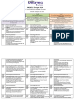 Med Tec Europe Conference Programme