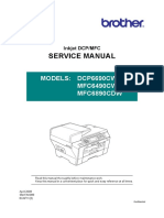 MFC-6690CW Service Manual