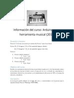 Arduino Musical