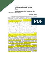 37968962 Adorno La Posicion Del Narrador en La Novela Contemporanea