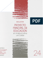 Proyecto Educcion en Amerrical Unesco 1991