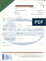 Dinamo Factura