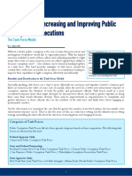 Strategies for Increasing and Improving Public Corruption Investigations - The Task Force Model - CAPI Issue Brief - August 2016