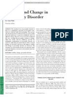 Stability and Change in Personality Disorder