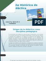 Exposicion Reseña Histórica de La Didáctica