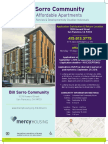 Apply Between Sept 1-29, 2016 for Bill Sorro Community - 66 Affordable Apartments in San Francisco