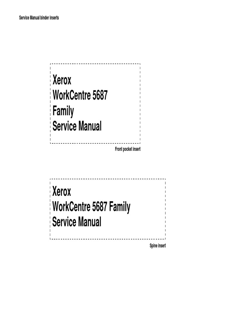 WorkCentre 5632_5645_5655_5665_5675_5687 Service Manual | Image Scanner |  Manual Transmission