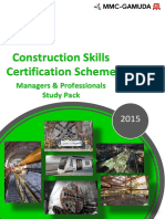 CSCS Managers Professional Study Pack Rev 0
