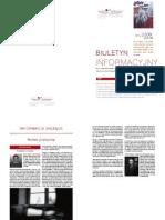 Biuletyn Informacyjny 02/2009