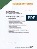 Education Hamburg, Volker Neumann, Weiterbildung SAP Technologie, 12 SAP Kurse, 12 SAP Certificates, SAP Basis, ABAP, SAP SD
