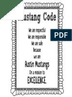 mustang code