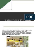 El uso de Lockers en el Trabajo