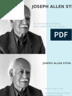 JA Stein