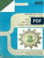 Manual de Director de Telesecundaria