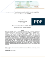 24 Producao de Novos Conhecimentos Nas Universidades Federais e as Politicas Publicas Brasileiras Recentes de CTI