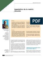 Técnica MFS. Diagnóstico de La Matriz Funcional. Codification. J. Duran