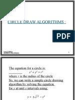 Circle Algorithm