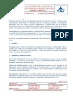 Politica para la validacion de metodos de laboratorios de ensayo y calibracion