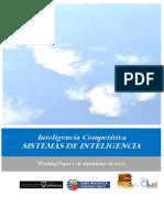 Inteligencia Competitiva. SISTEMAS DE INTELIGENCIA